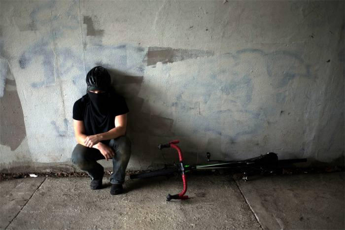 vigilante stolen bike thief