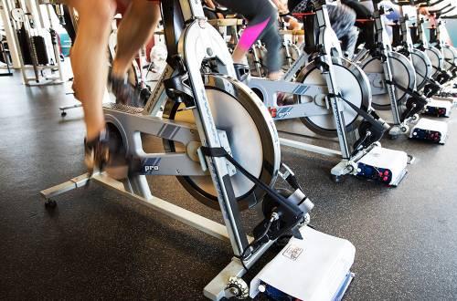 clif bar spin classes bike generators power building