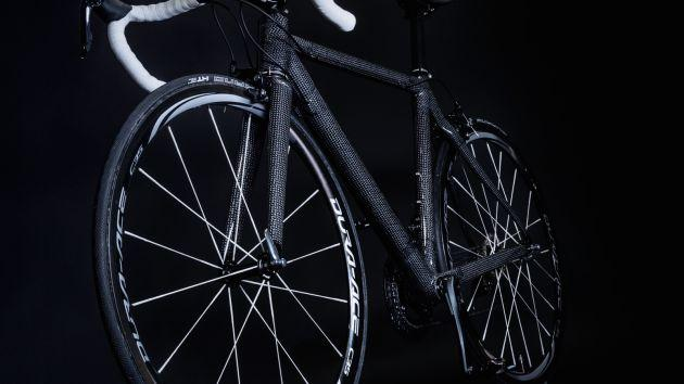 Dyneema carbon fiber future bike
