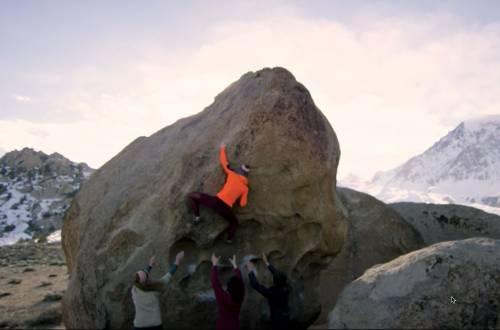 flash foxy female climbing community film
