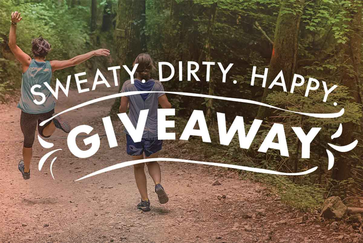 Adventurous Woman Enter Sweaty Dirty Happy Contest