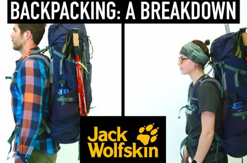 Jack Wolfskin Backpacking