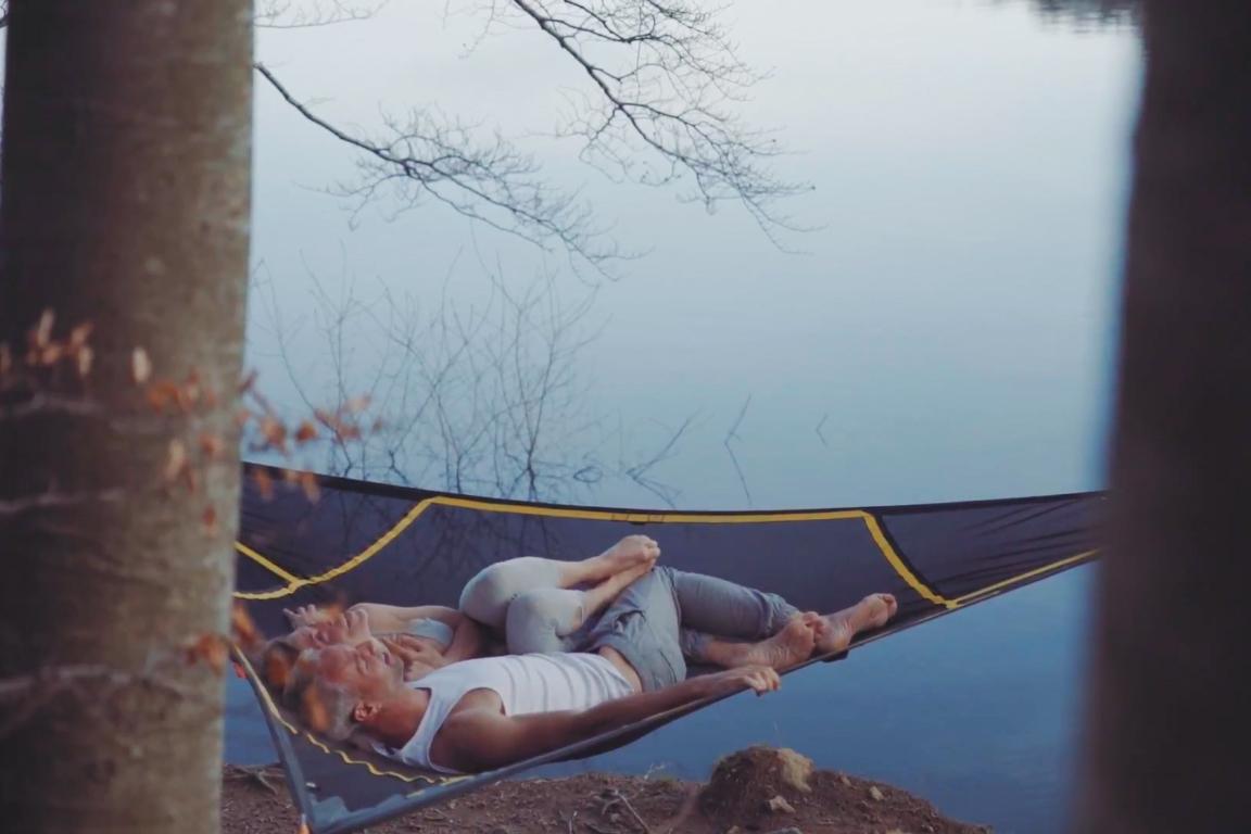 Hybrid Hammock A Levitating Yoga Mat Gearjunkie