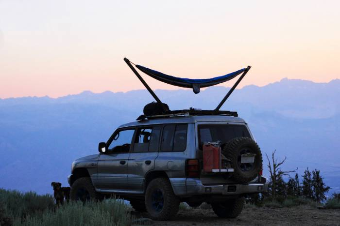 overland roof-top hammock