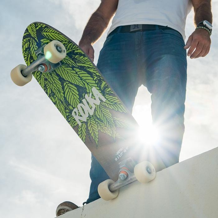 rolka hemp skateboard
