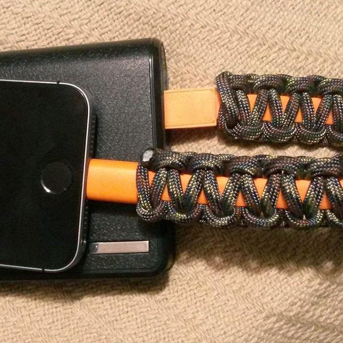 survival smart bracelet phone charger