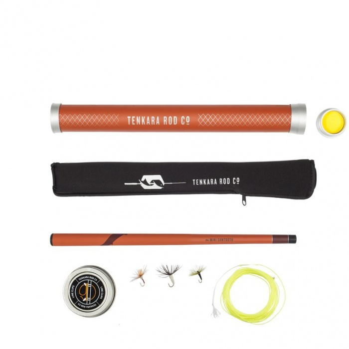 tenkara mini sawtooth package
