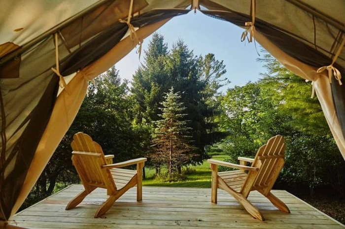 tentrr airbnb for camping