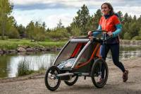 Thule carriage stroller mother baby