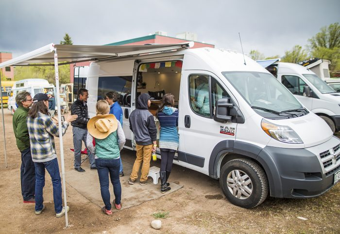 Photos: 5Point Festival Is Hub Of Van Life