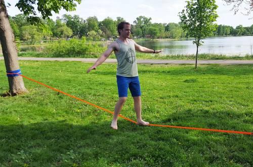 yogaslackers eline slackline beginner