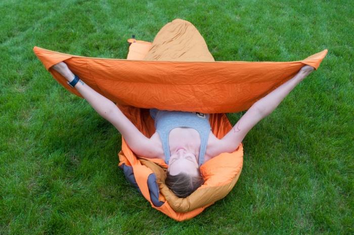 zenbivy side sleeper sleeping bag
