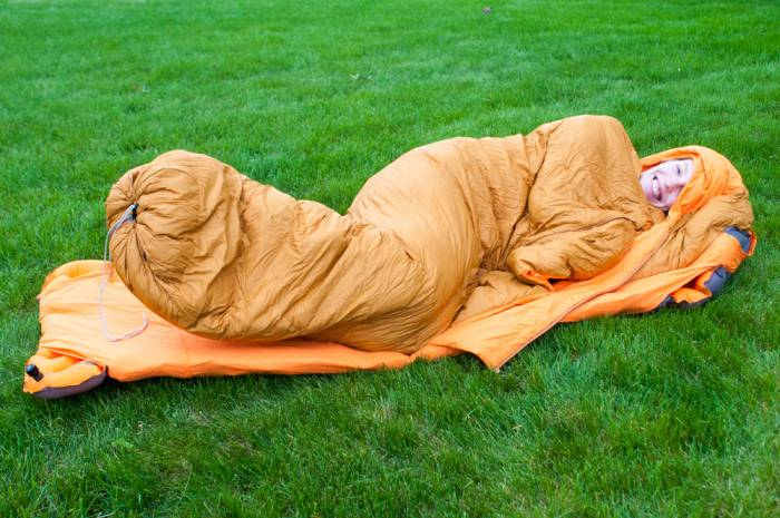 zenbivy side sleeper sleeping bag