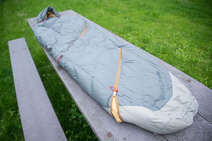 Kelty sine sleeping bag review