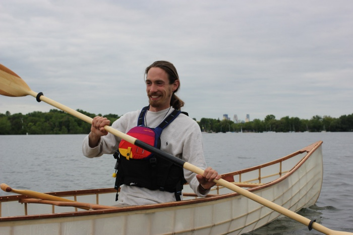 Packing It Out Three Rivers Expedition Michael Anderson In Canoe