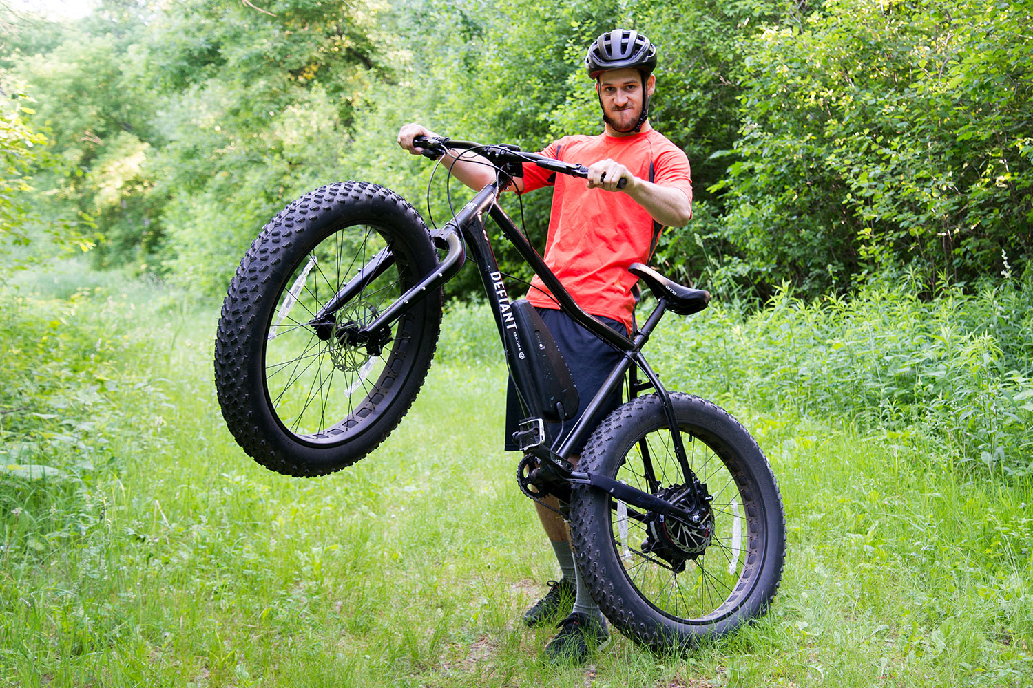 GearJunkie — First Look: Powerful Pedaling With Defiant 'Fat Electric' Bike