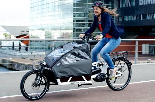 Riese & Müller minivan e bike