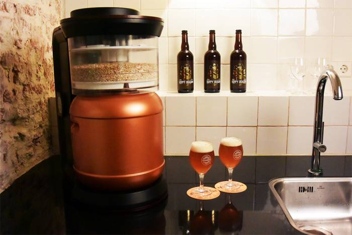 Automatic Beer Brewer Fits On The Countertop Gearjunkie