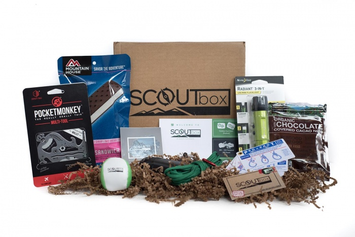 Scoutbox subscription gear package