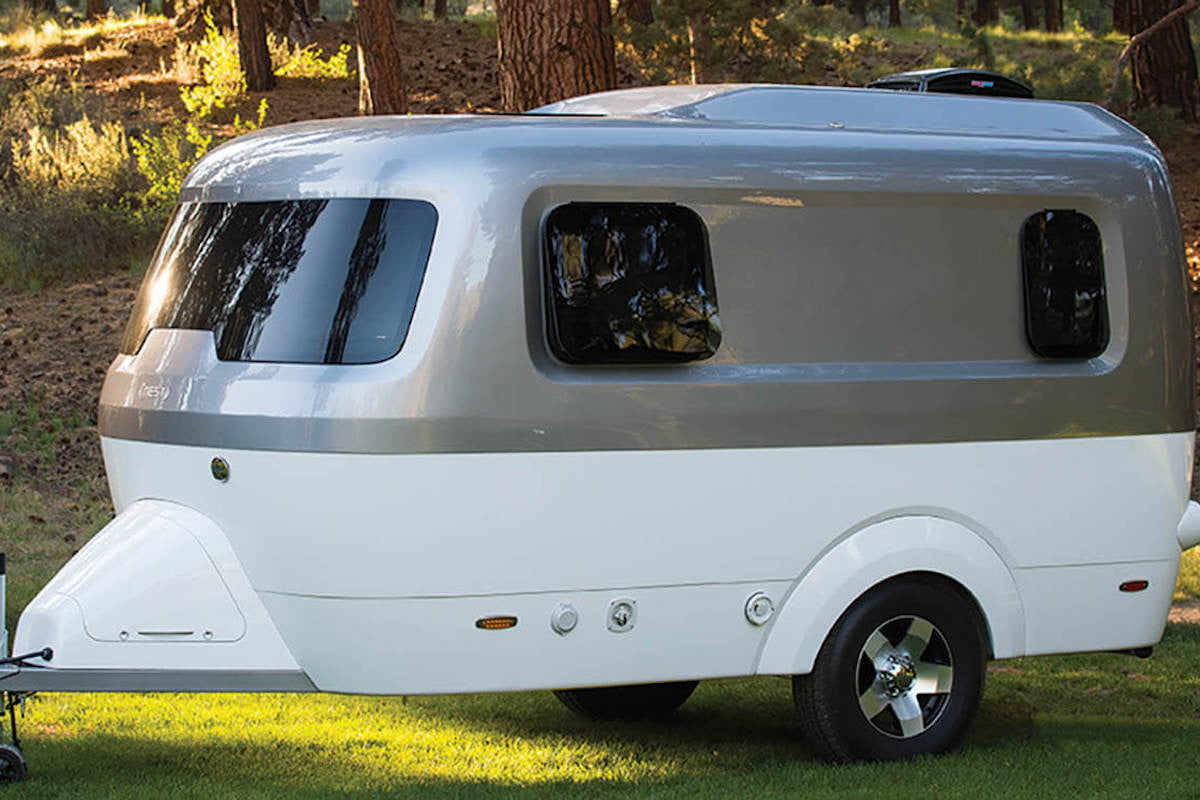 Airstream For Sale Bc >> No More Metal Airstream Launches Fiberglass Nest Camper