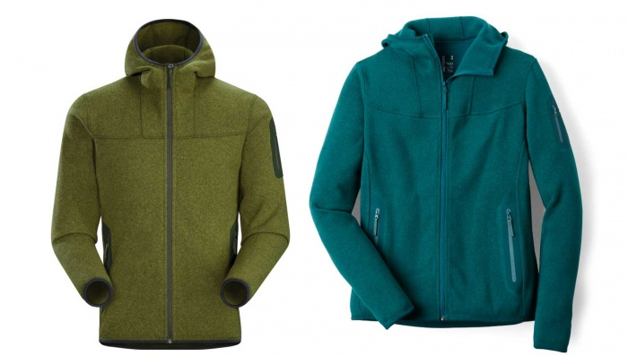 Arc'teryx layering fleece