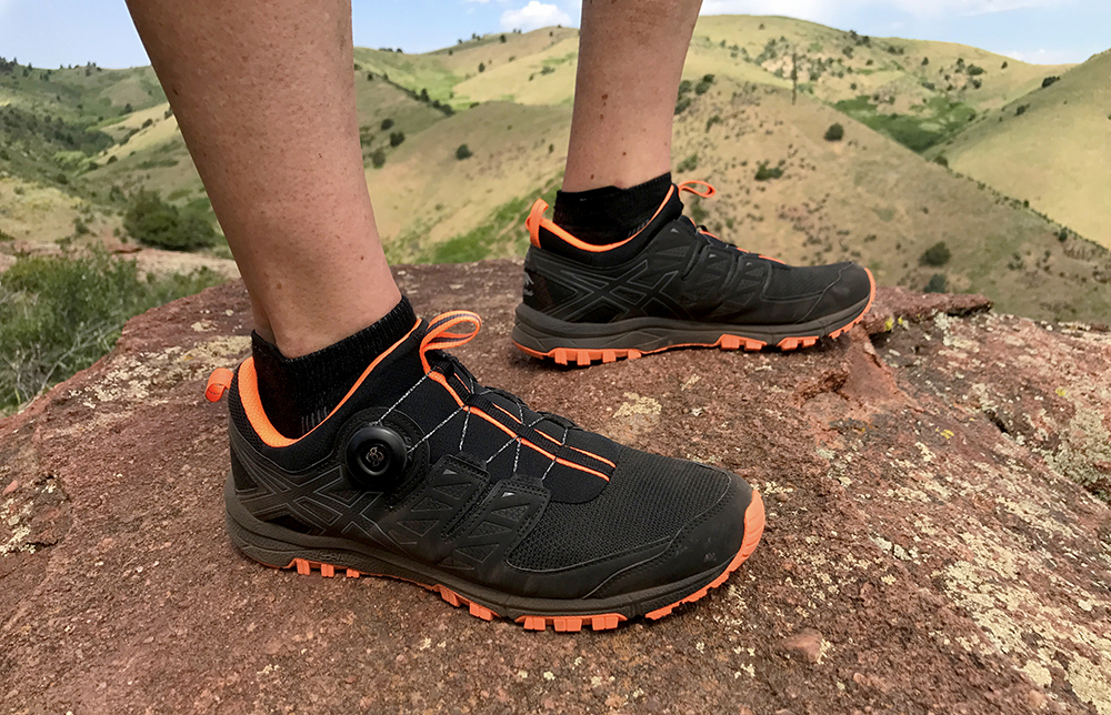 Turn A Dial, Tighten These Asics Trail Running Shoes | GearJunkie