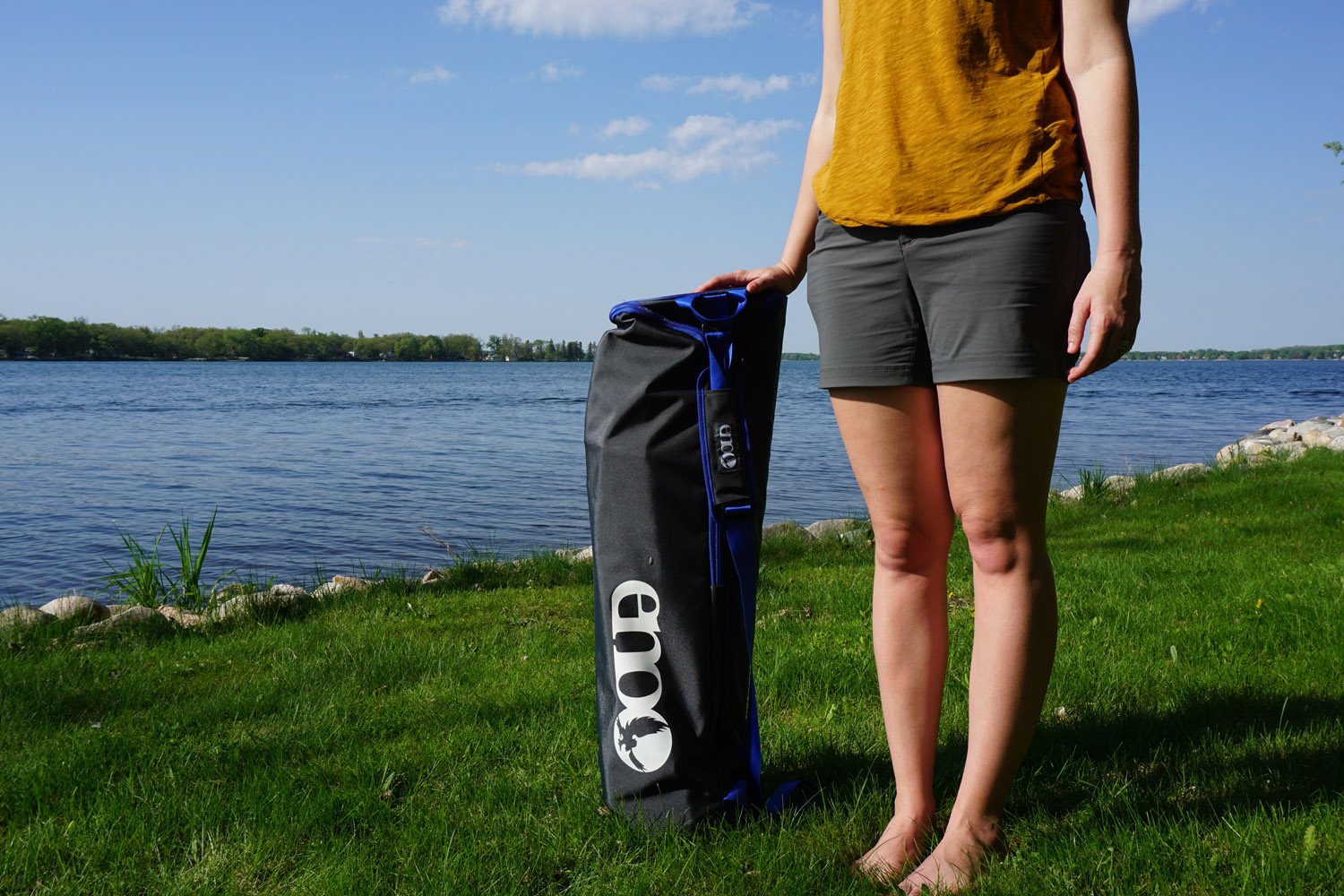 Relax Anywhere With Eno Nomad Hammock Stand Gearjunkie