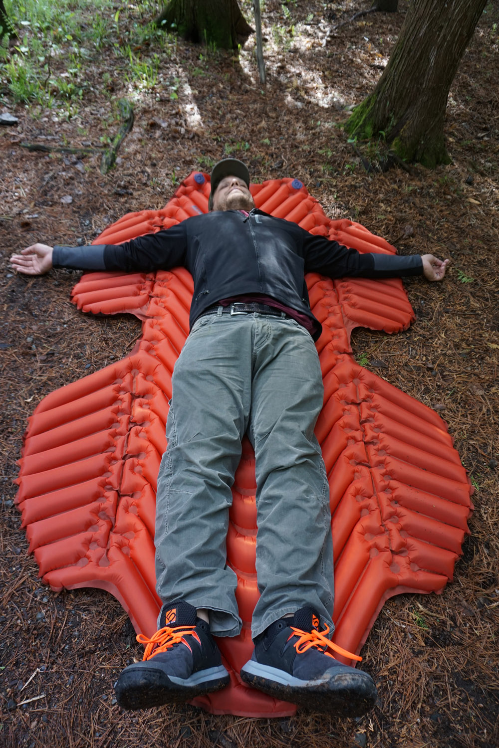 Review Sleeping Pad With Wings For Hammock Campers