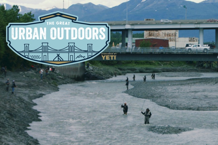 Great Urban Outdoors Fishing in Alaska