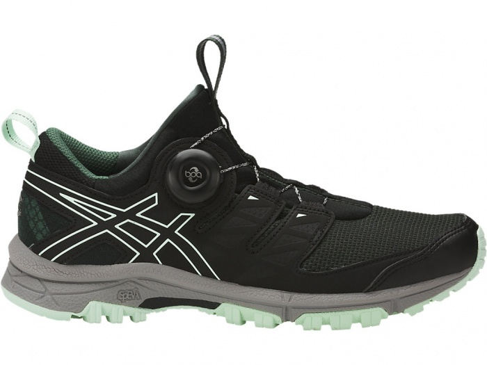Boa running shoe Asics FujiRado trail running shoe review