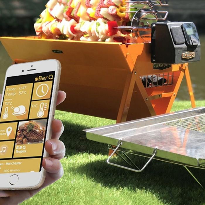 Portable Smart Grill: Uber Q bbq