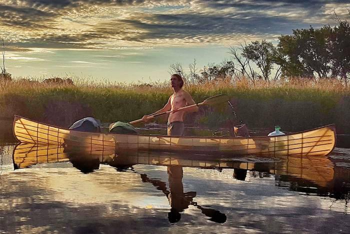 minnesota river canoe