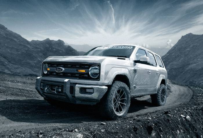 Ford Bronco 2020 4 Door >> 4-Door Bronco: Fan Renderings Offer Peek At Off-Road Favorite | GearJunkie