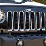 2017 Jeep Wrangler grill