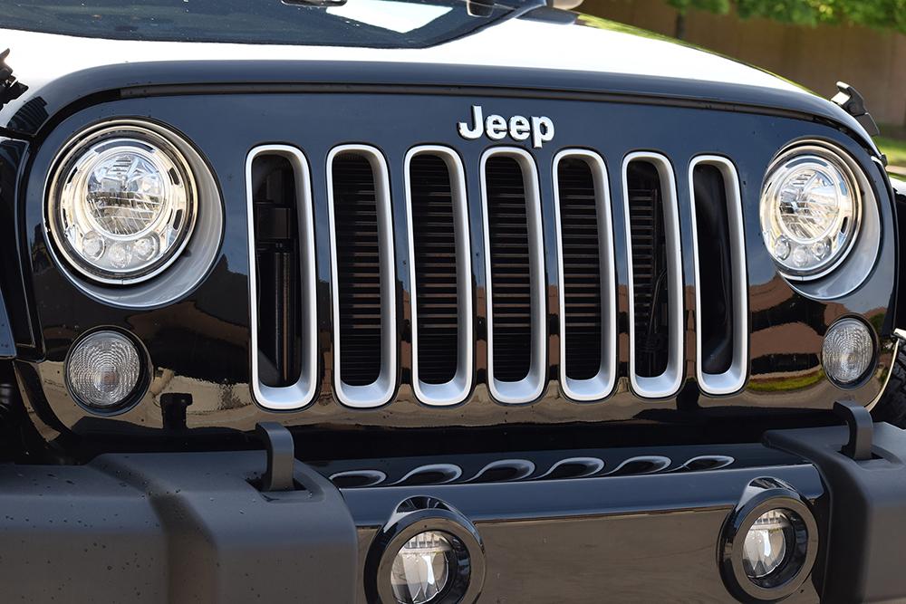 2017 Jeep Wrangler grill