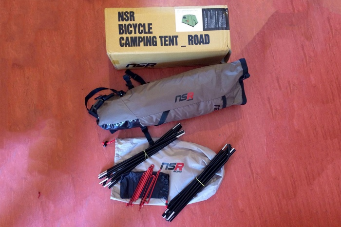 NSR Riding Bicycle Tour Camping Tent review