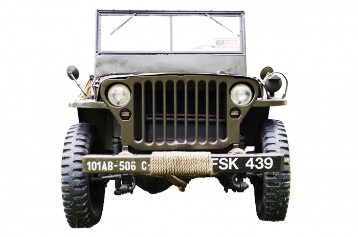 old-army-jeep