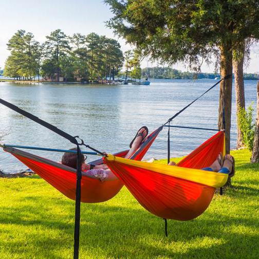 Outdoor Retailer Summer 2017 tandem hammock