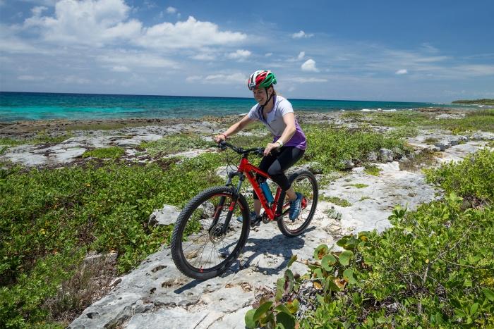 Mountain biking in the Yucatan
