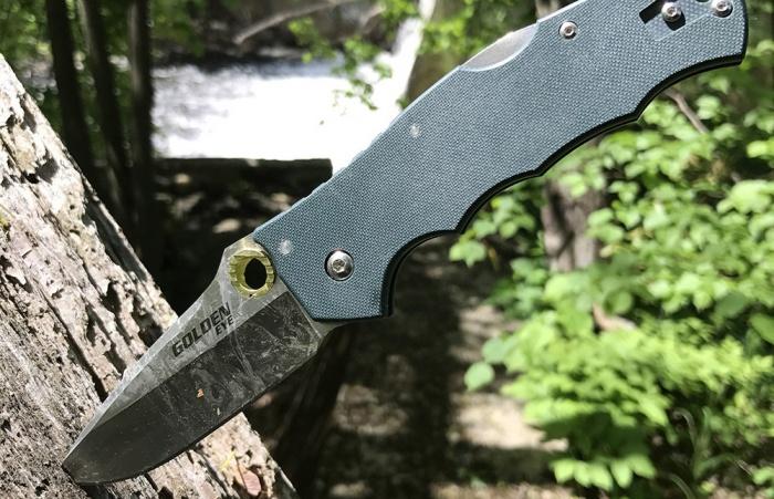 Cold Steel Golden Eye Knife
