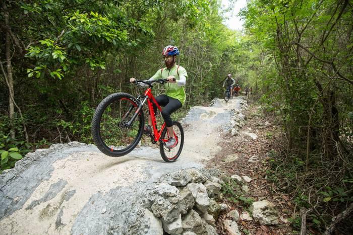 Mountain biking Punta Venado Bike Park