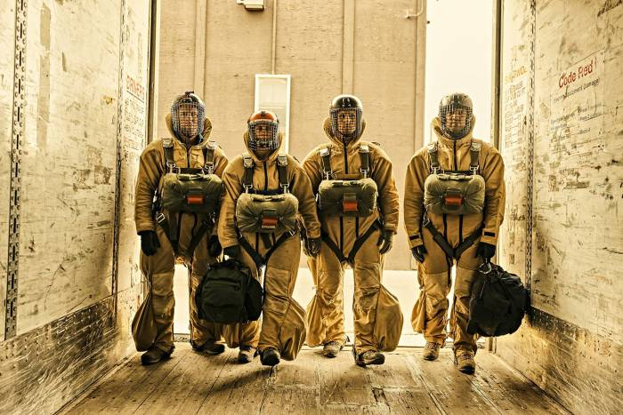 Filson USFS smokejumpers firefighter photography