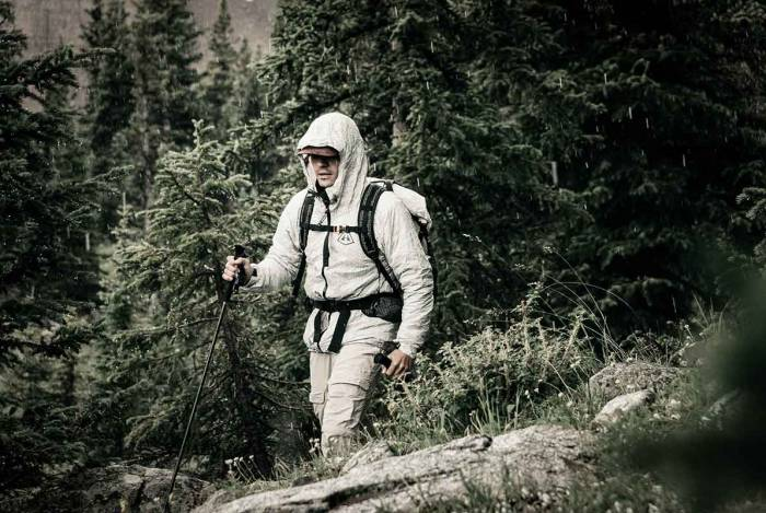 Hyperlite Mountain Gear Dyneema jacket The shell
