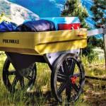 Polymule wheelbarrow upgrade