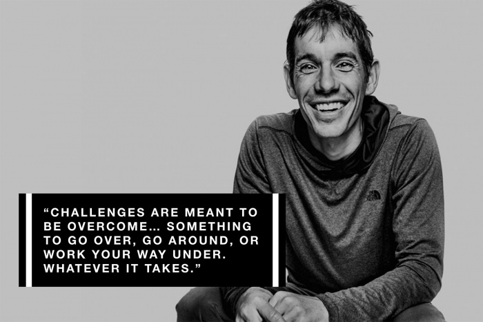 alex honnold TNF walls are meant for climbing campaign
