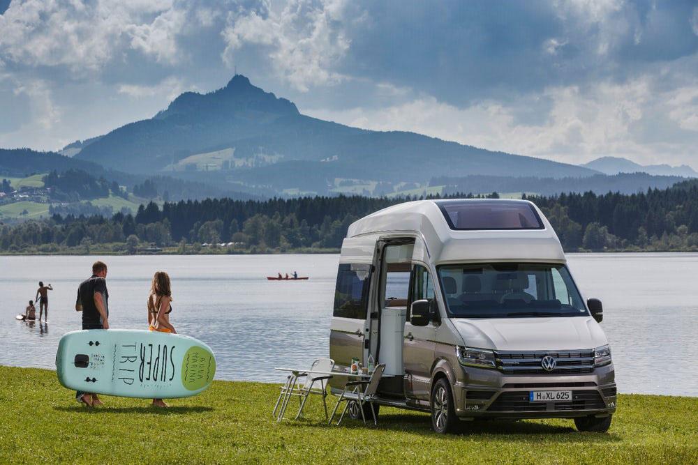 4787e5321d VW Concept Van  Ultimate Camper Unveiled At German  Caravan  Show ...