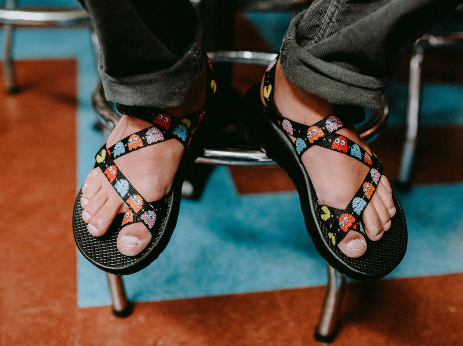 083cb466ada4 Pac-Man Sandals  Chaco Launches  80s Arcade Classic