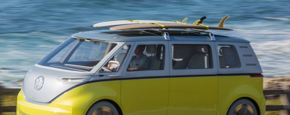 VW Bus concept ID Buzz