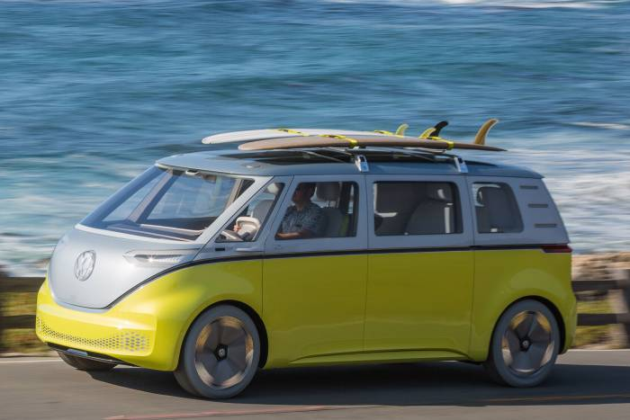 VW Bus concept ID Buzz
