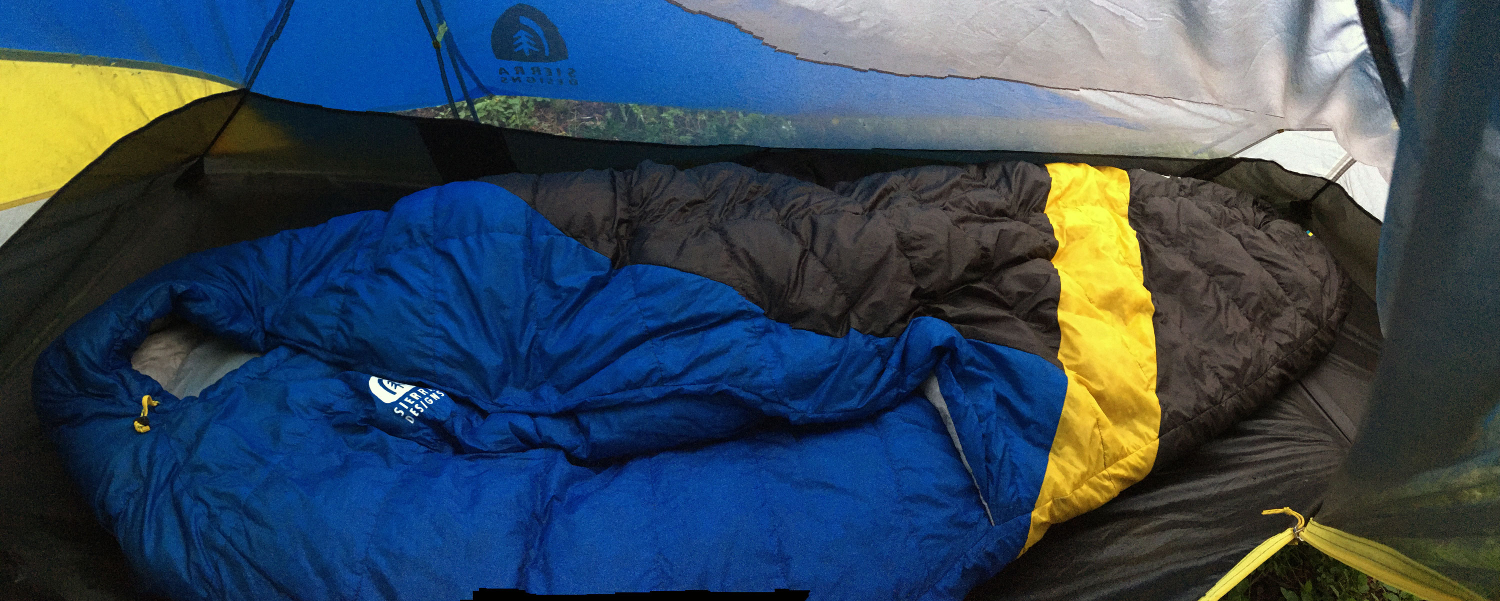 Sierra Designs High Side 1 person tent Review & Lean-To Shelter: First Look At u0027High Sideu0027 Tent